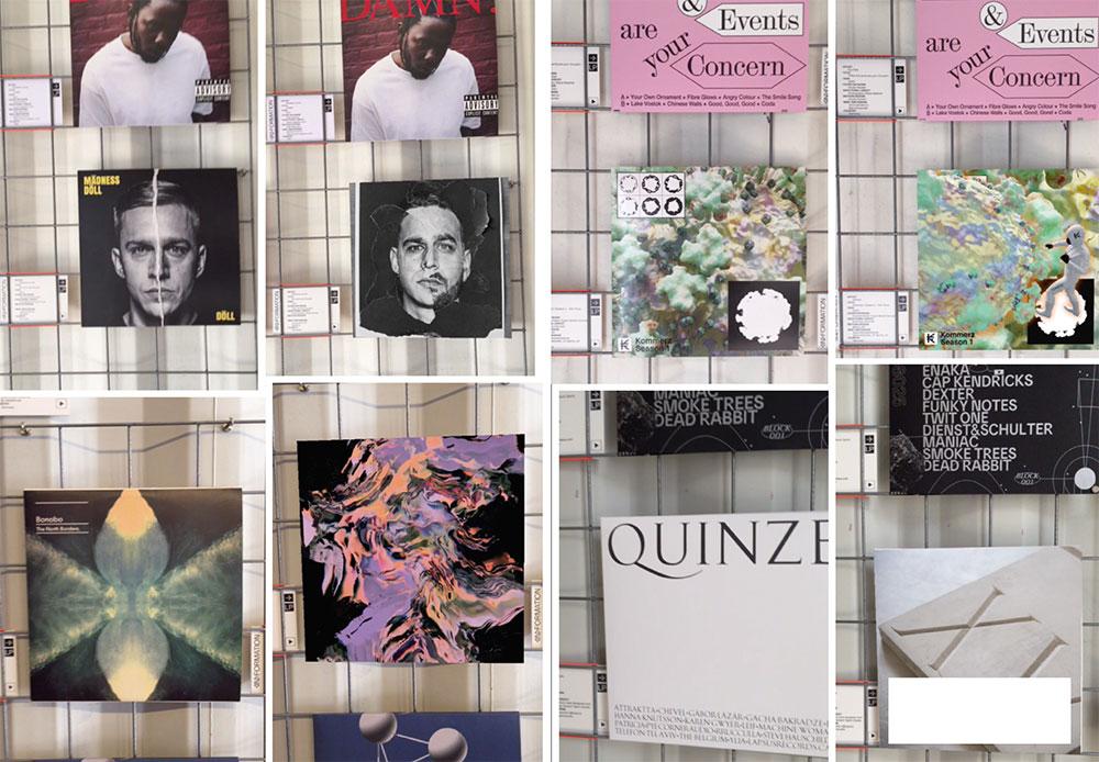 AR Ausstellung Bareis + Nicolaus vier Cover