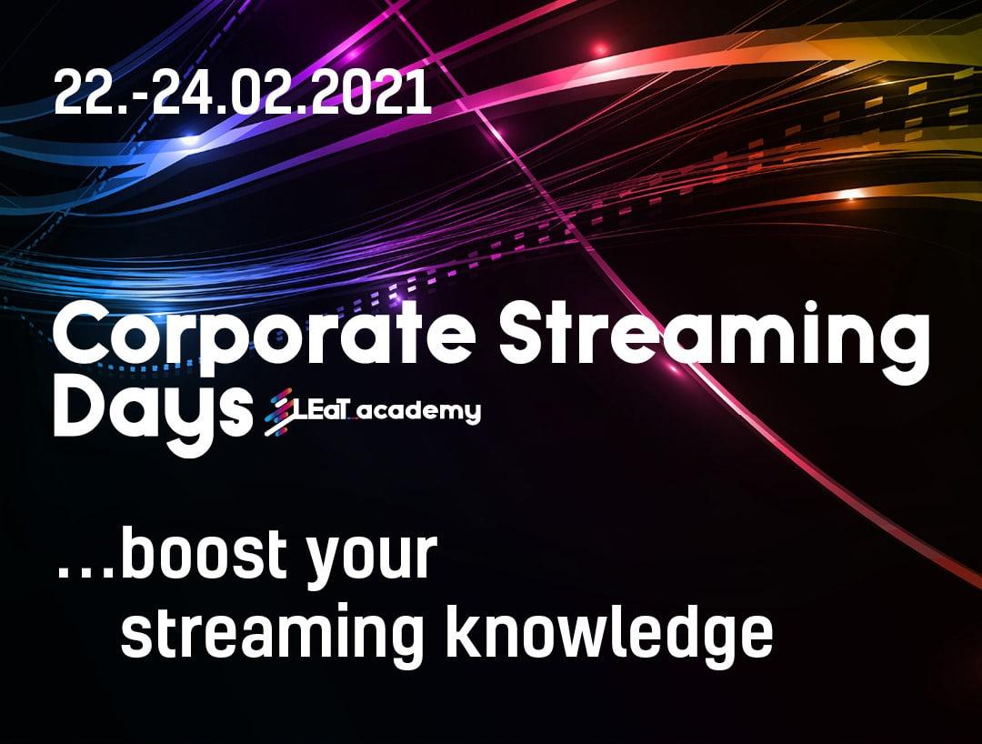 workshopreihe corporate streaming days