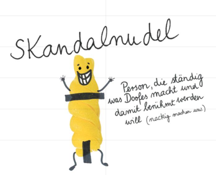 Deutsch lernen mit witzigen Illustrationen im »Levikon«