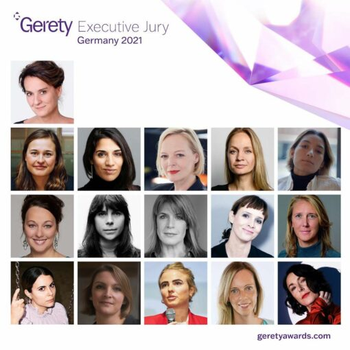 Gerety Awards 2021_German Jury