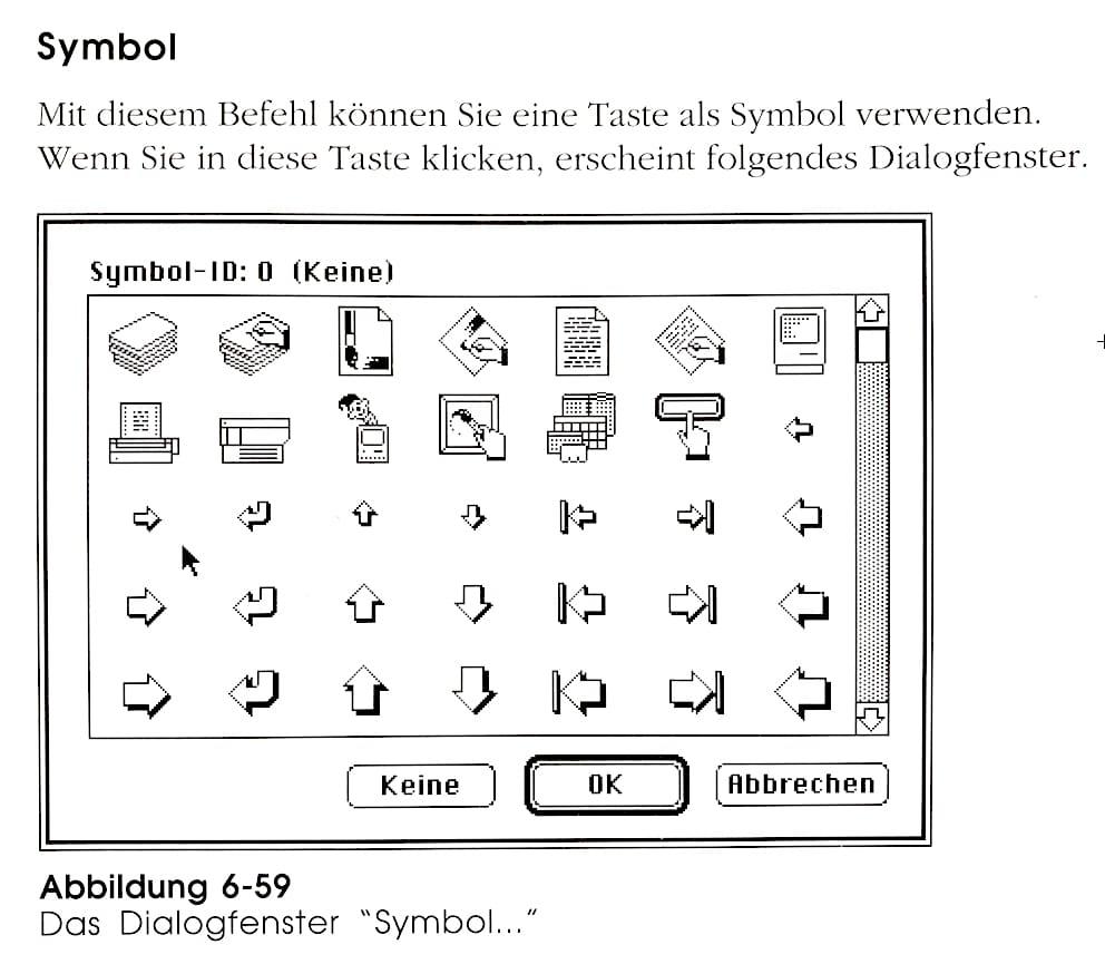 HyperCard Apple-Programm 1987 Interface