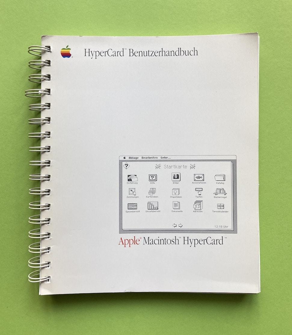 HyperCard-Benutzerhandbuch