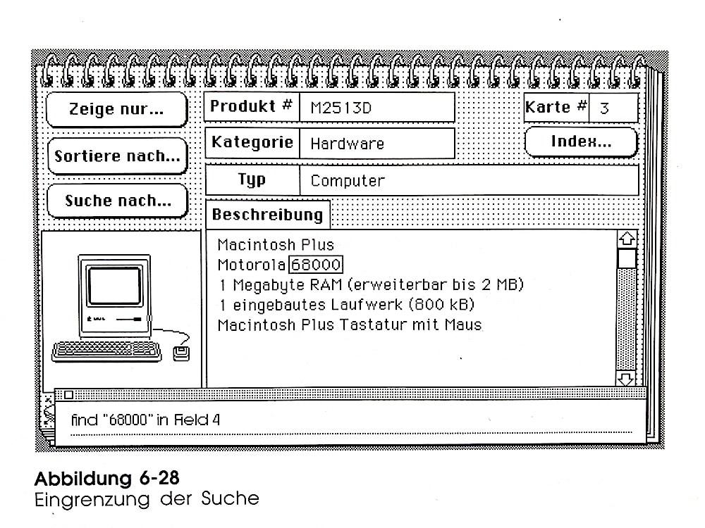 HyperCard-Benutzerhandbuch UX-Design der achtziger Jahre