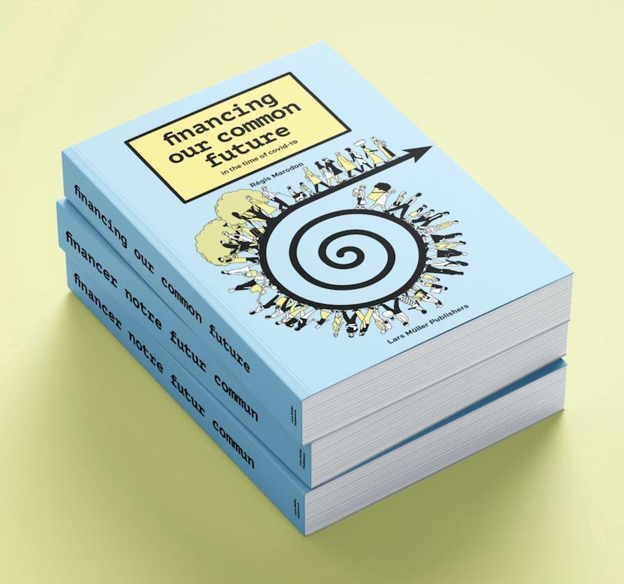 Illustriertes Buch über die Finanzwelt und Investieren in eine bessere Welt