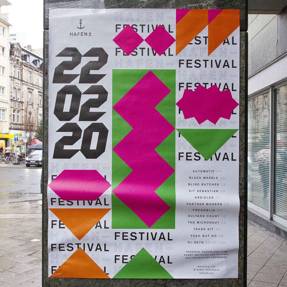 Plakat für Hafen2 | Festival