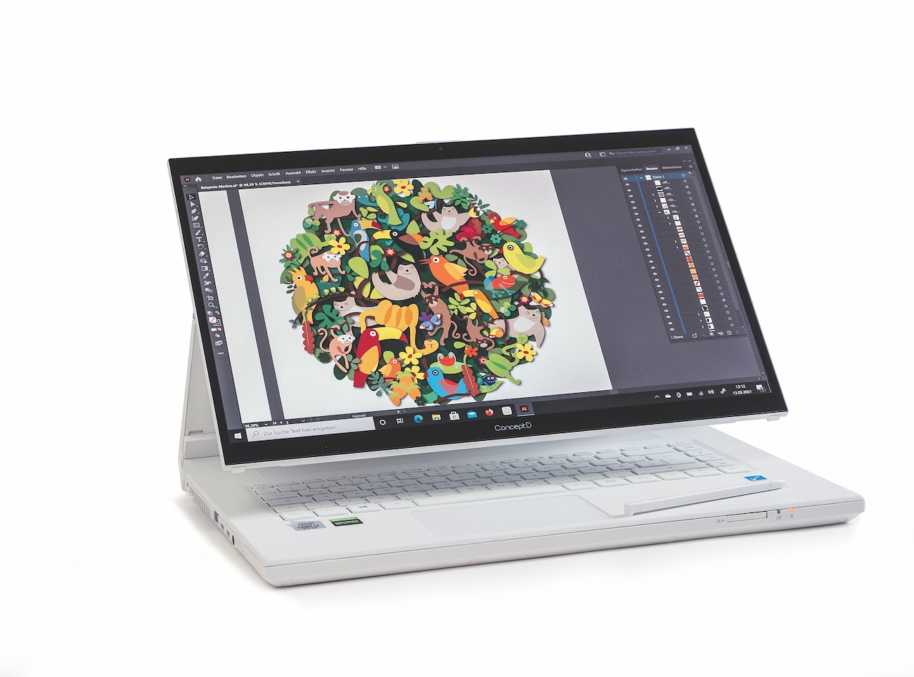 Testbericht Acer ConceptD7 Ezel