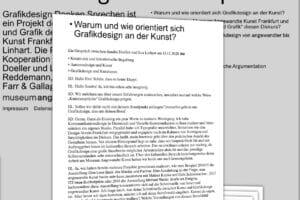 Grafikdesign und Kunst Online-Plattform MAk