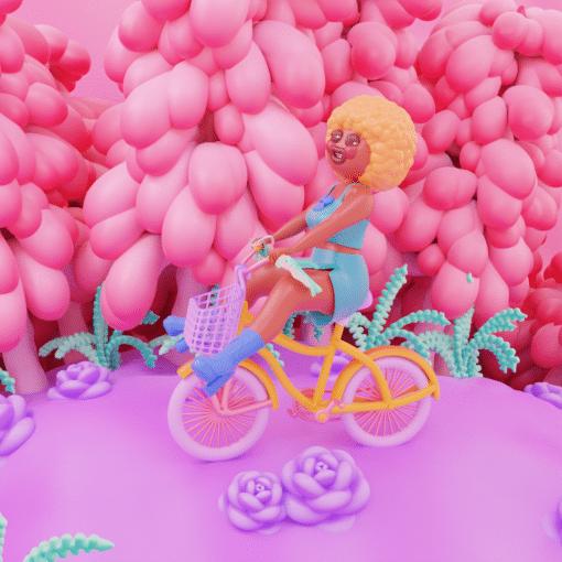 Loulou Joao Bike Animation Still