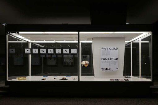 designtransfer Ausstellung Außenvitrine