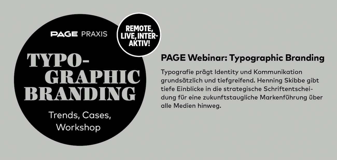 Neuer Online-Workshop zu Typographic Branding