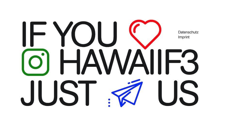 Agentur-Website Branding HawaiiF3