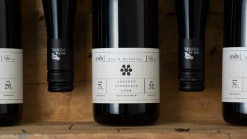 Weinkino Etikett vorne