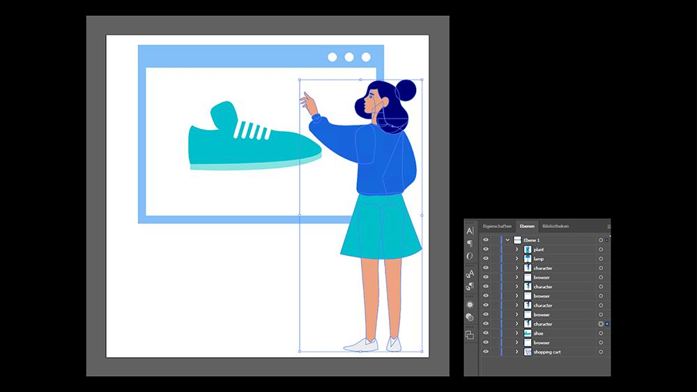Screenshot Illustrator