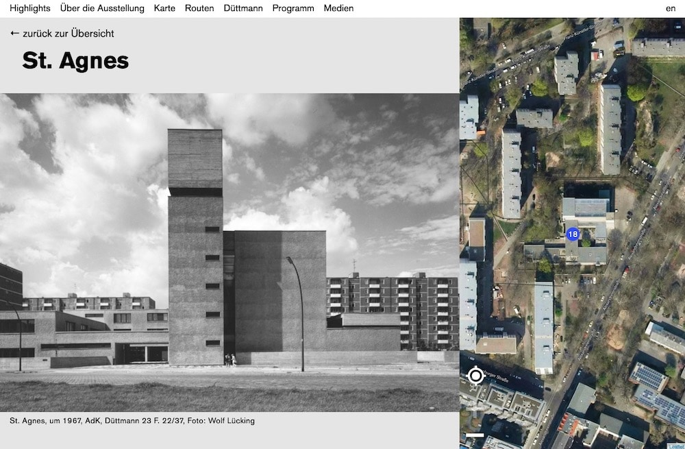 Architekt Webdesign Werner_Duettmann St Agnes Kreuzberg