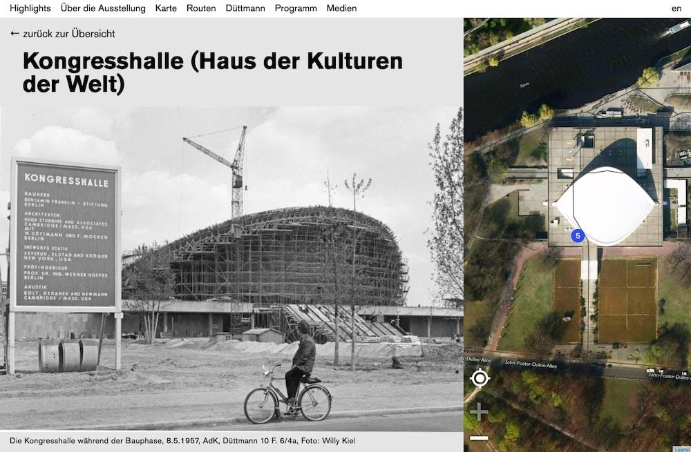 Architekt Website Werner Duettmann_Kongresshalle Haus der Kulturen der Welt