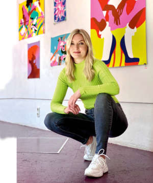 Lisa Tegtmeier, Illustratorin in Hamburg