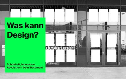 designxport: Was kann Design? Visual