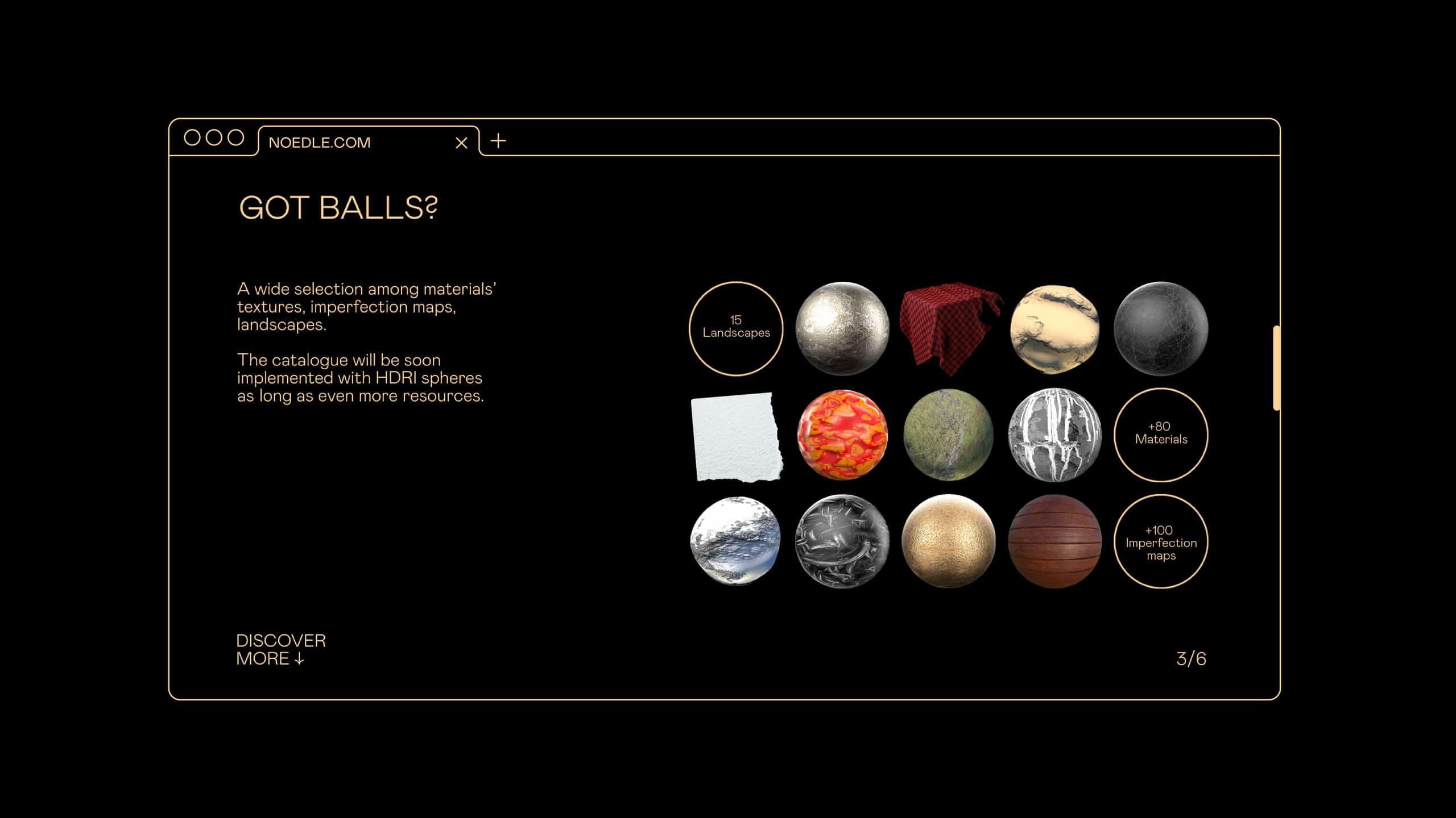 Noedle Balls