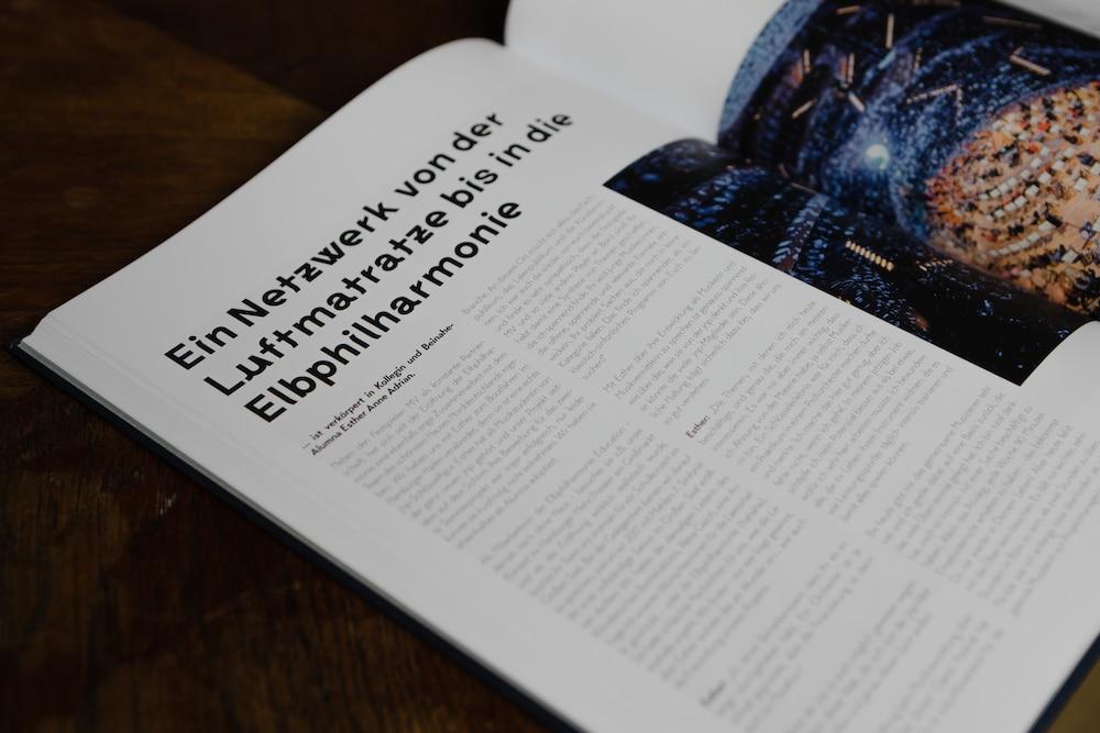 Buchseite mit Headline