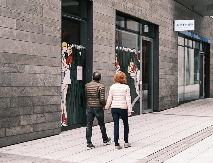 Comic-Wettbewerb Ausstellung Open-Air
