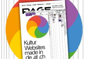 Die besten Kulturwebsites und mehr in PAGE 06.2021