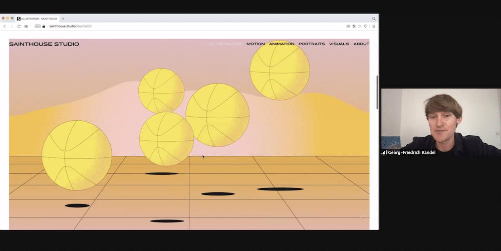 Portfolio Slam Motion Design Georg Randel