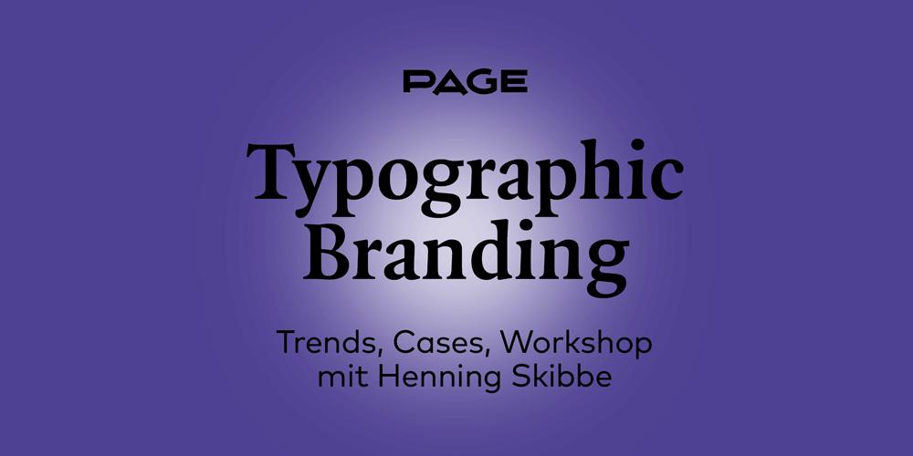 Online-Workshop zu Typographic Branding