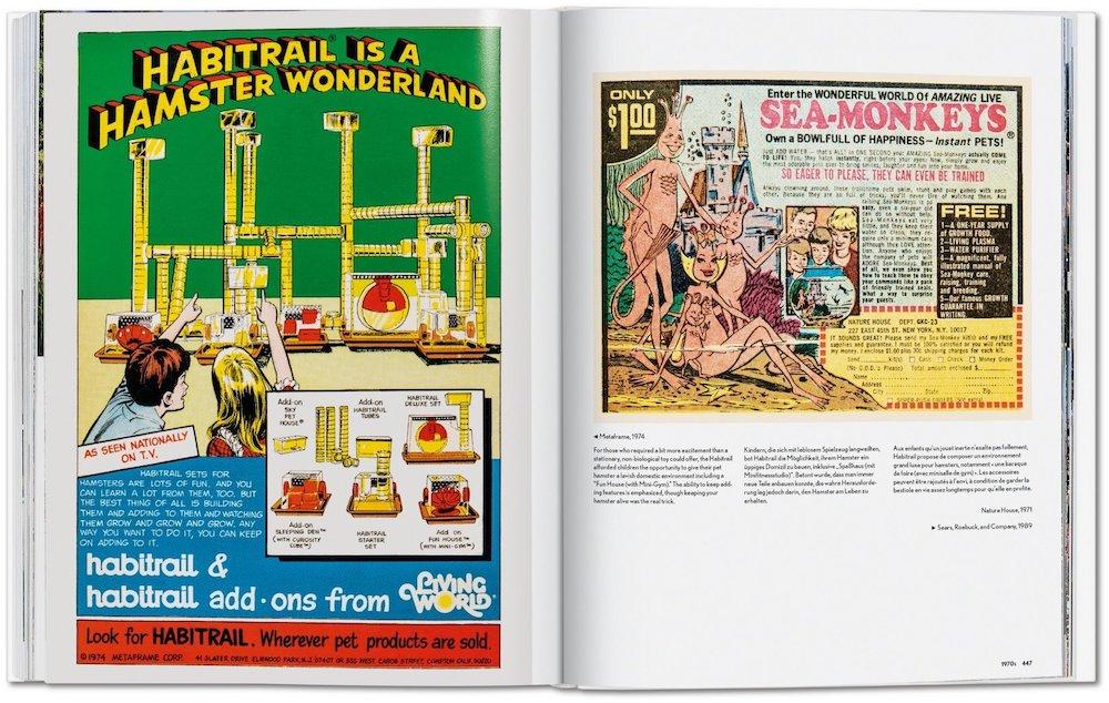 Vintage Werbung Kinder USA