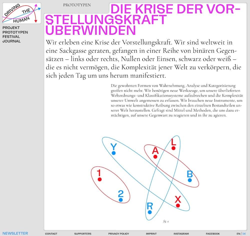 Website Kunst und Wissenschaft Studio Yukiko Berlin