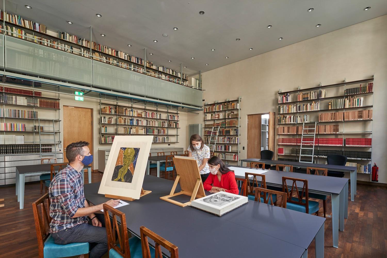Der neue Studiensaal des Städel Museums