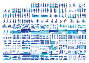 Illustration Library: KMS Team für die Zürcher Kantonalbank