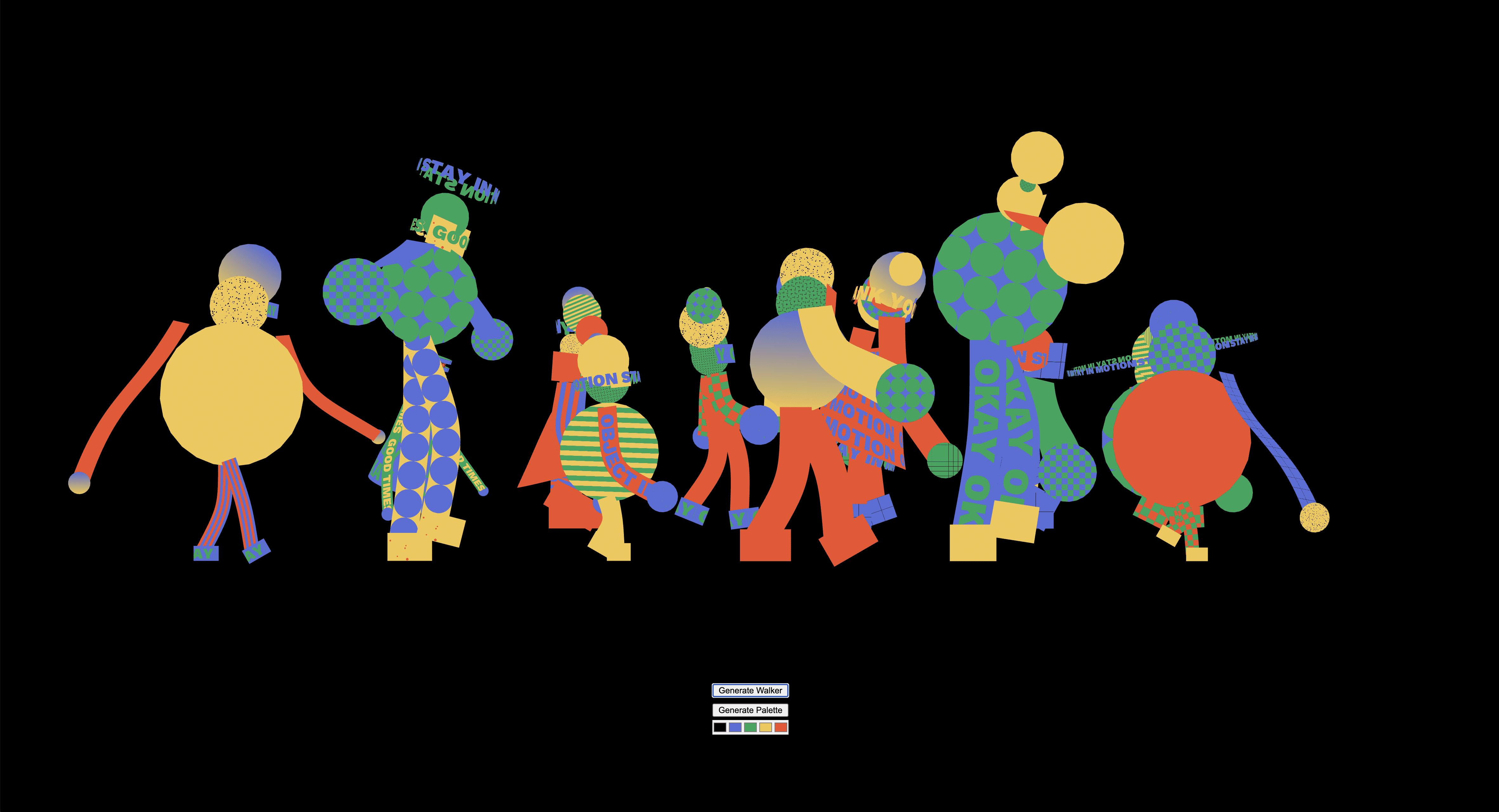 people parade