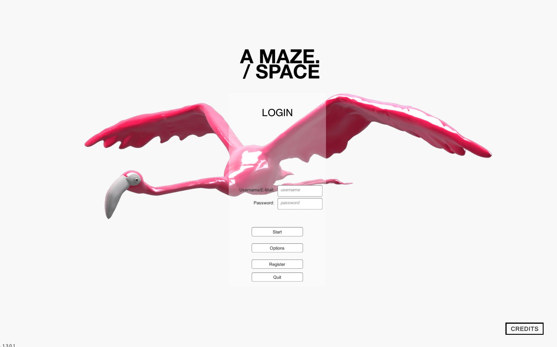 A MAZE. Space Login