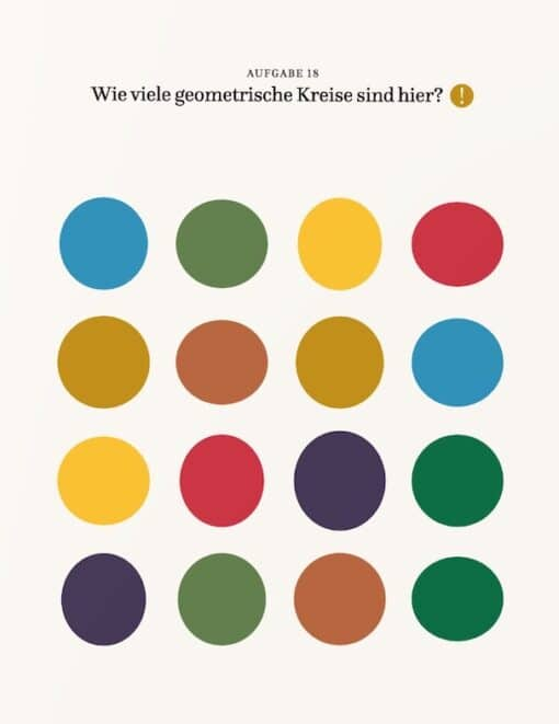 Rätsel-Buch für visuelle Menschen