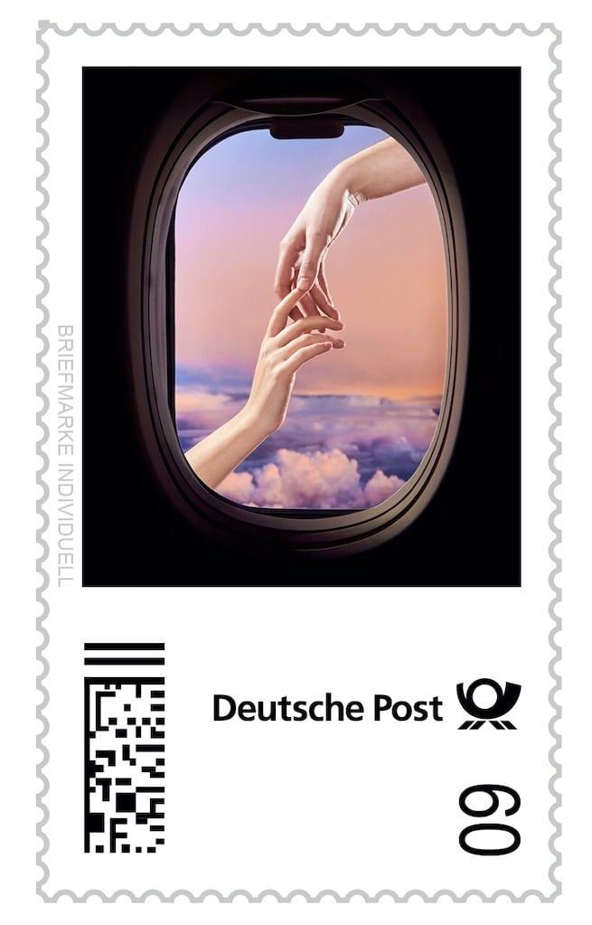 Selbst gestaltete Briefmarken Philoteus Nisch