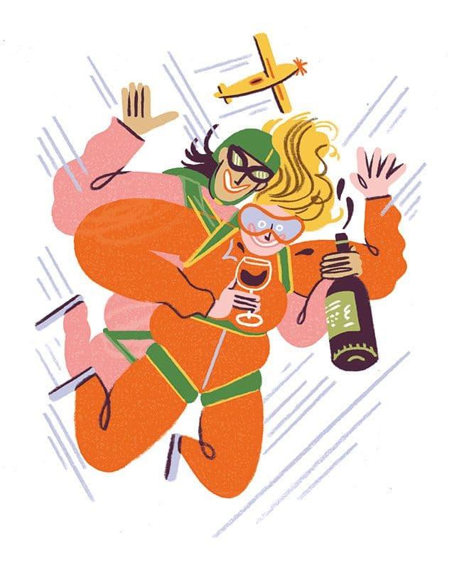 Illustration von Kati Szilagyi für Food & Wine