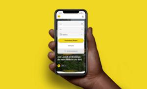 Neue BVG Website von Aperto auf dem Smartphone