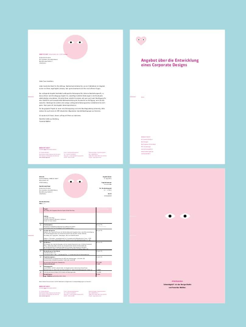 Angebote schreiben für Designer