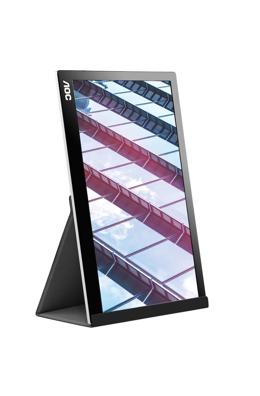 mobiles Arbeiten mit tragbarem Bildschirm