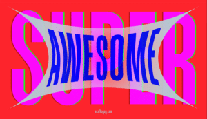 Super Duper Typeface