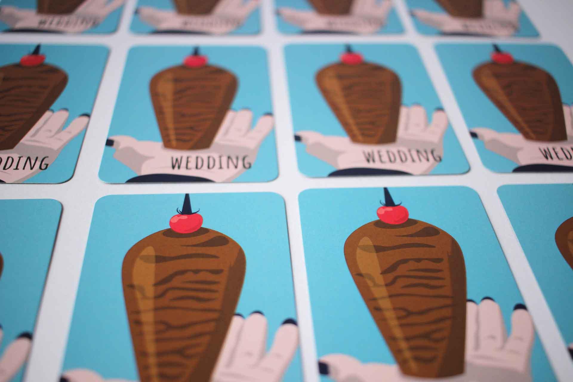 Spielkarte Reclaim Wedding Dönerspieß