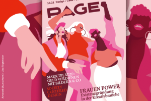 PAGE 10.2021 Cover-Illustration: Lisa Tegtmeier