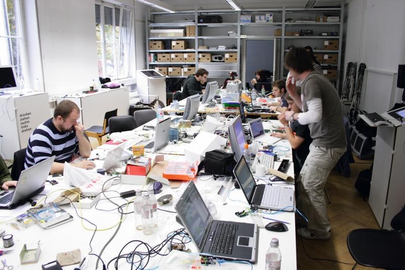 Prototying, Arduino-Workshop, Medienlabor, Hochschule für Gestaltung Schwäbisch Gmünd