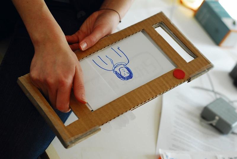 Prototyping, Papier-Prototyp