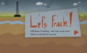 NewsgameHackathon Lets Frack Titel