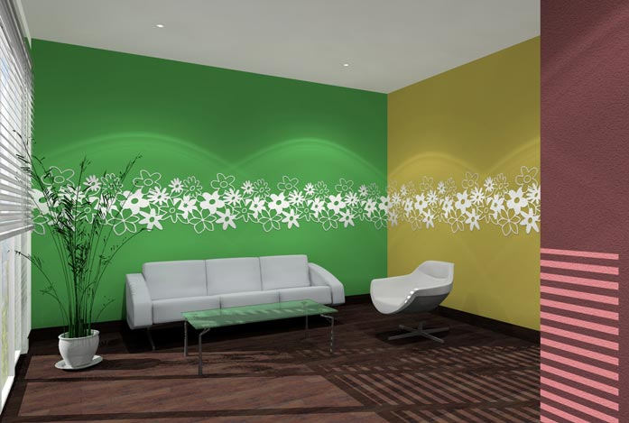 2wandornament-flowerpop-lobby-wartebereich