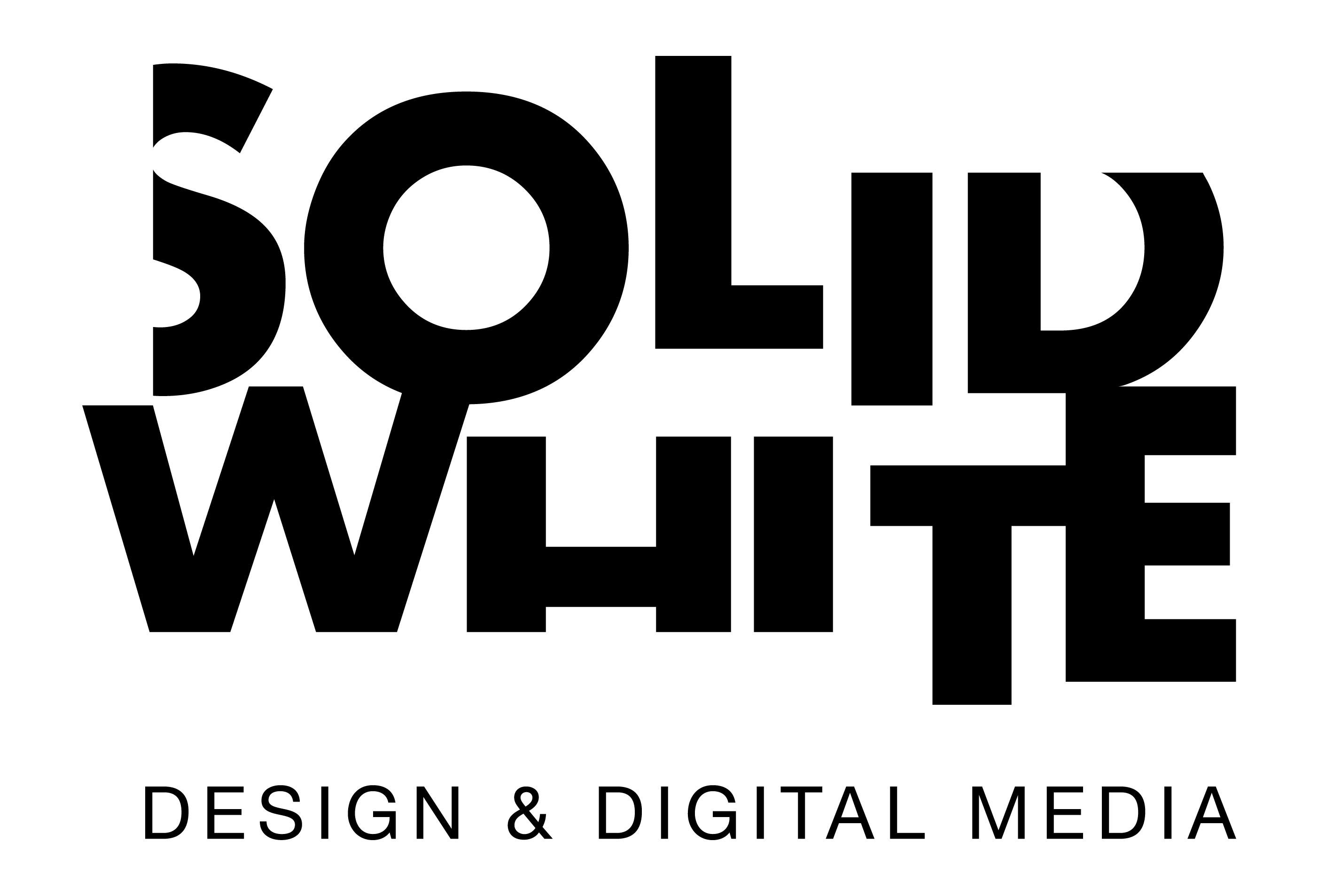 SOLID WHITE design & digital media