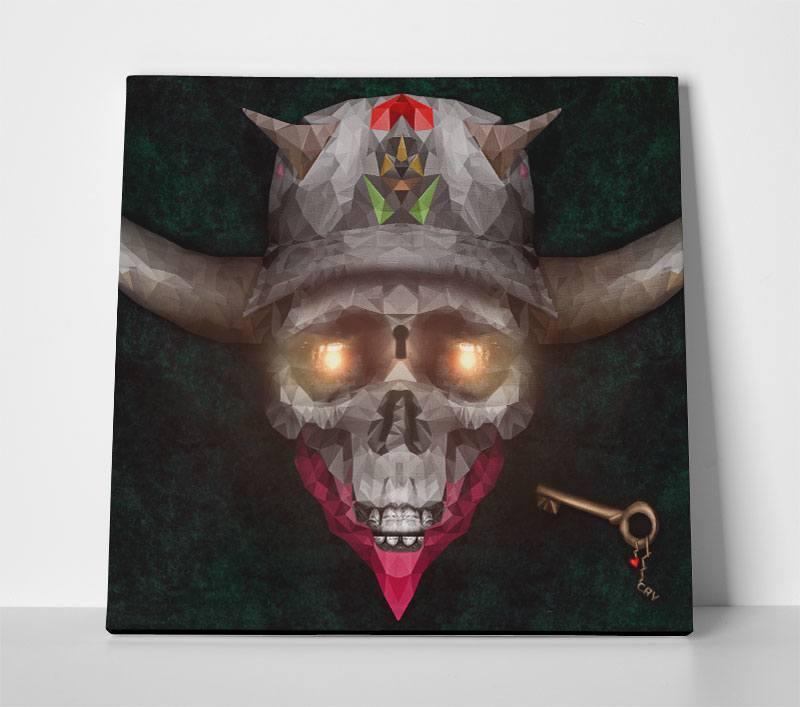 canvas_skull