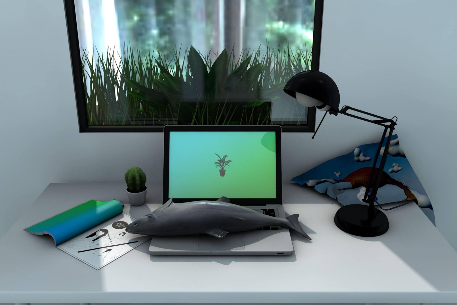 desk-frontal