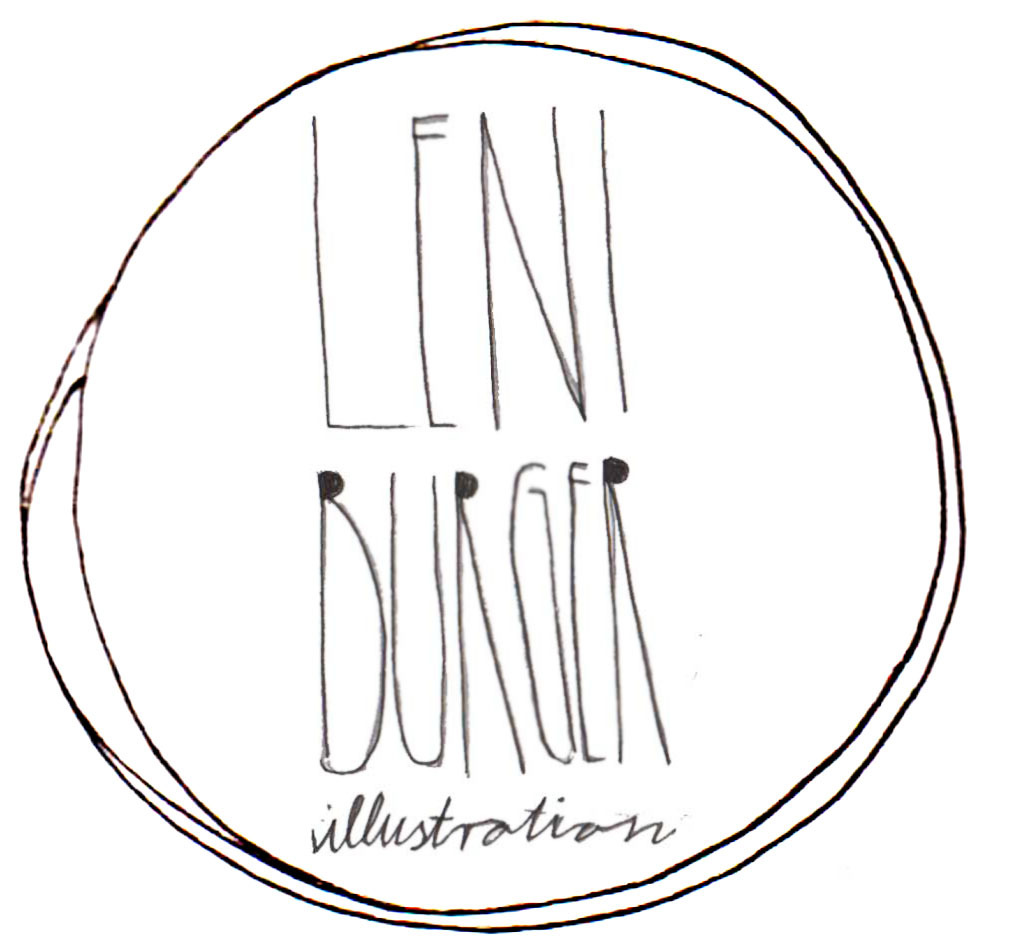 Leni Burger Illustration